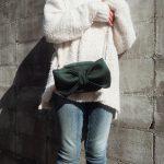 【見ためも可愛いribbon bag】お洋服のポイントに!