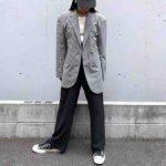 【4/3私服】大人カジュアルなジャケットコーデ。
