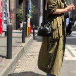 【152cmコーデ】ロングトレンチコーデ