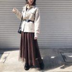 今日の私服 (またシャツ着まわし)