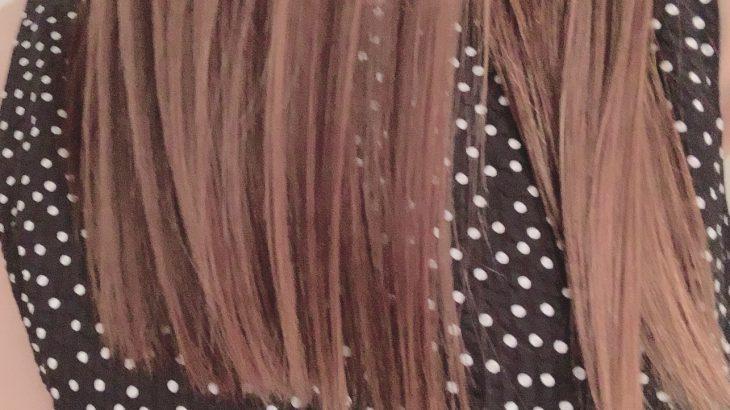 髪の毛サラサラの秘訣㊙️