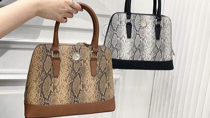 【Python bag】コーデのスパイスに🧡