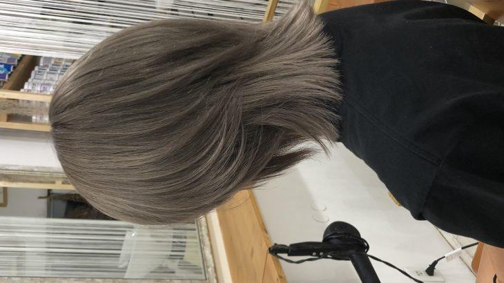 ¥4000で髪色キレイに❣️