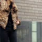 トレンドのレオパ柄!!♥♥♥お洒落度UPジャケット