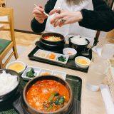 野菜もりもりスンドゥブ〜(⊙ꇴ⊙)👍✨