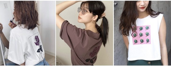 【kimika】夏場必ず使えるプリントTシャツ!🌴